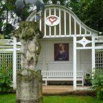 altán v zahradě Vily Čerych