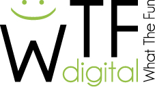 Logo společnosti WTF digital