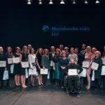Slavnostní vyhlášení ocenění Neziskovka roku v Divadle Archa v listopadu 2017